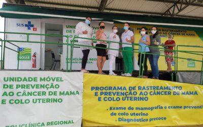 Prevenção em Goianápolis para 200 mulheres