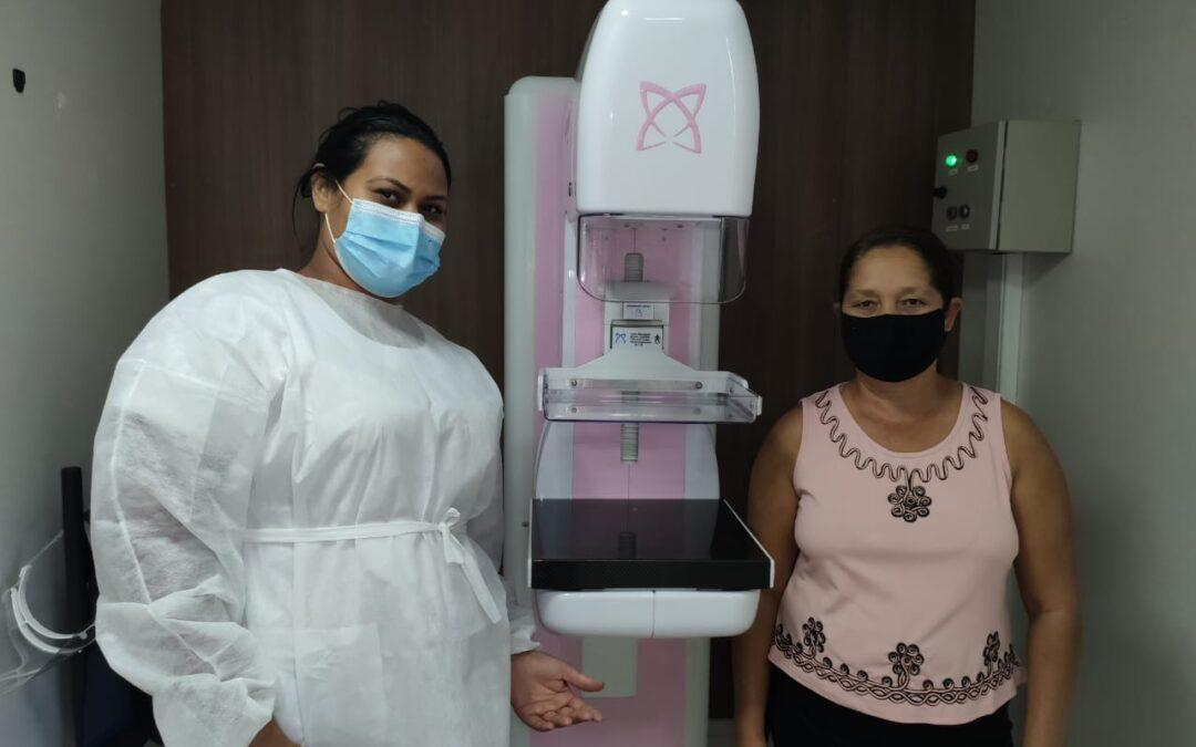 Carreta da Prevenção ao câncer de mama atende 200 mulheres em Goianápolis