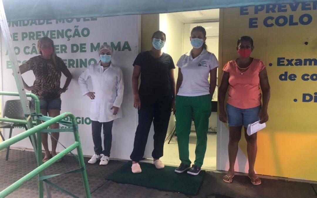 O sonho da mamografia chega a Uruaçu