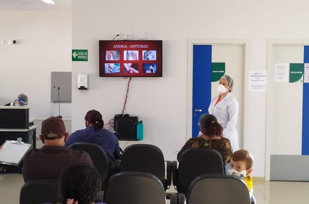 Policlínica de Goianésia realiza palestra sobre alimentação e doenças hematológicas