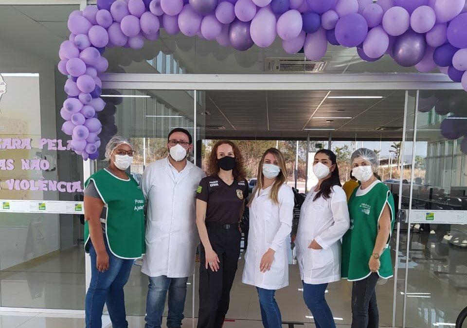 Policlínica Estadual de Goianésia realiza palestra em alusão ao Agosto Lilás