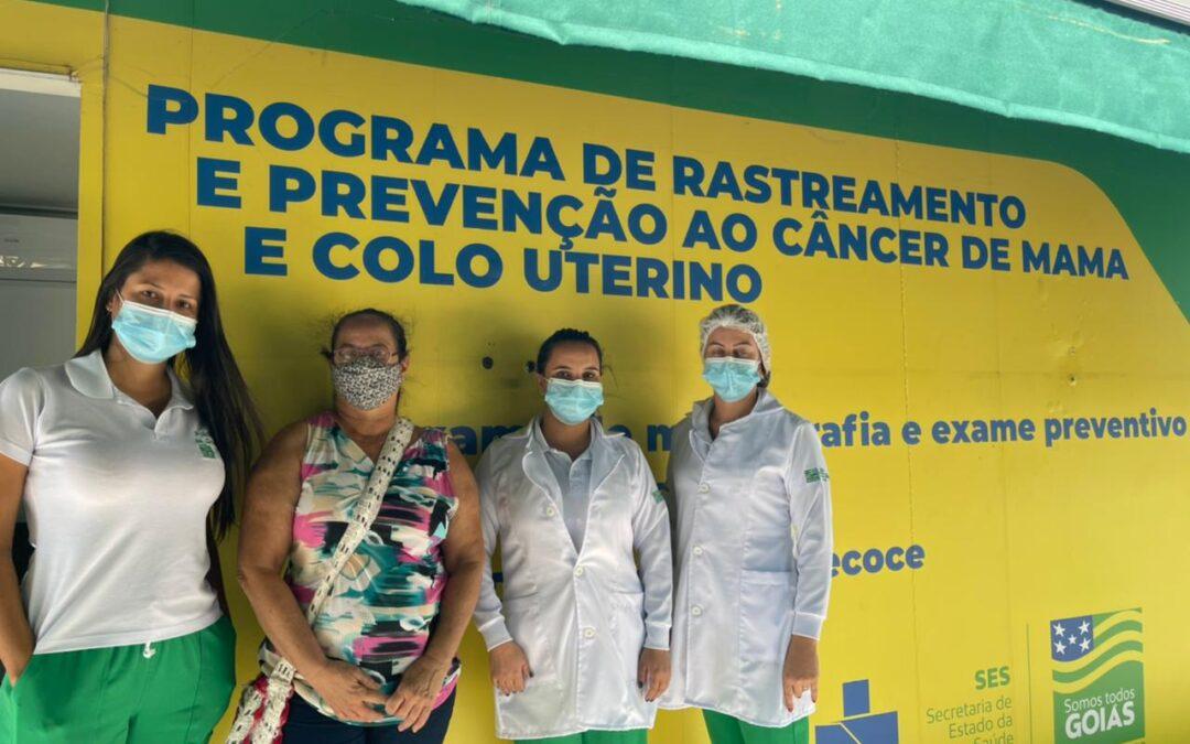 Carreta faz mais de 600 mamografias em Jaraguá